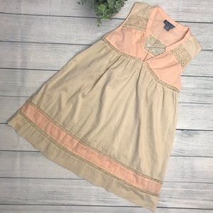 Anthro Fleurette Dainty Lace Slipdress/Tunic